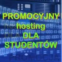 PROMOCJA dla STUDENTÓW - hosting, domena .PL