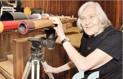 Margherita Hack Birth Anniversary: Known as 'The Lady of the Stars', Honoured by Google Doodle on Her 99th Birthday