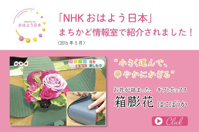 NHK箱膨花