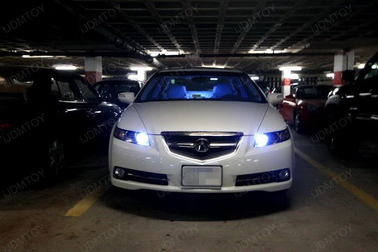 Acura 9005 DRL LED Bulbs 1