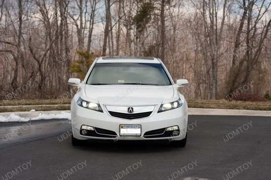 Acura TL 9005 LED Headlight Replacement Bulbs 4