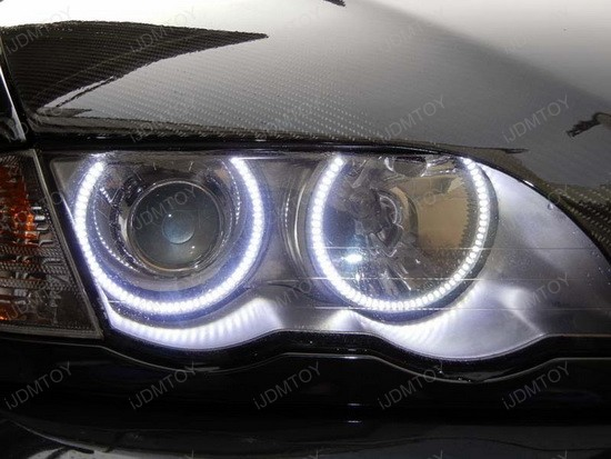 BMW E46 3 Series LED Angel Eyes 2