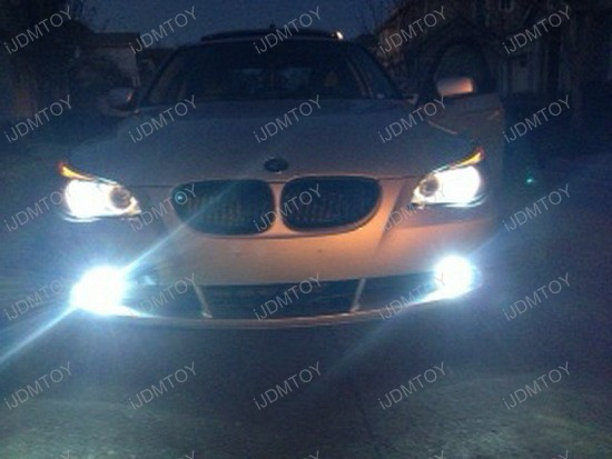 BMW 545i HID Fog Lights 1