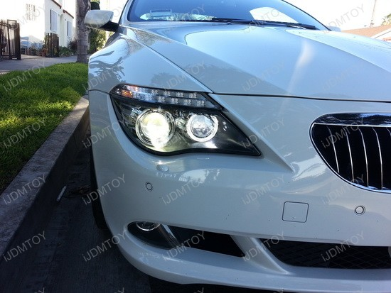 BMW 650i LED Halo Angel Eyes 1