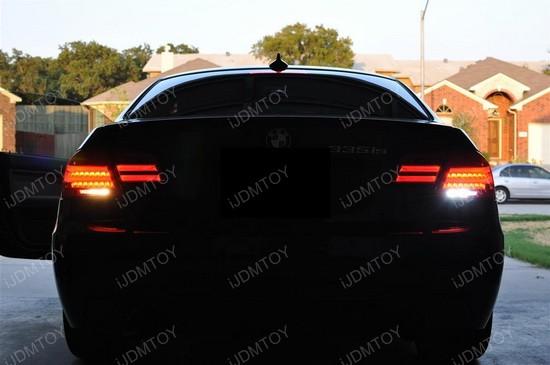 BMW E92 335is LCI CREE LED Backup Reverse Lights 1