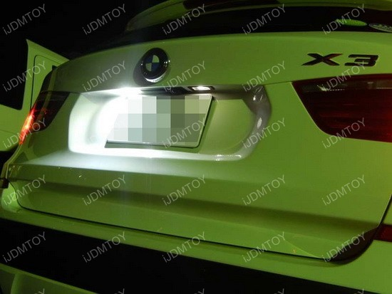 BMW LED License Plate Lamps 02