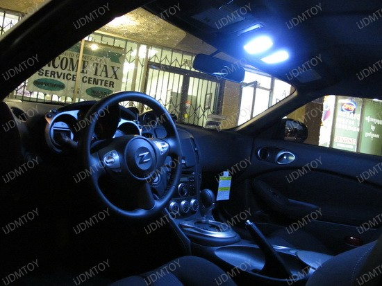 2010 - nissan - 370z - led - interior - lights - 2