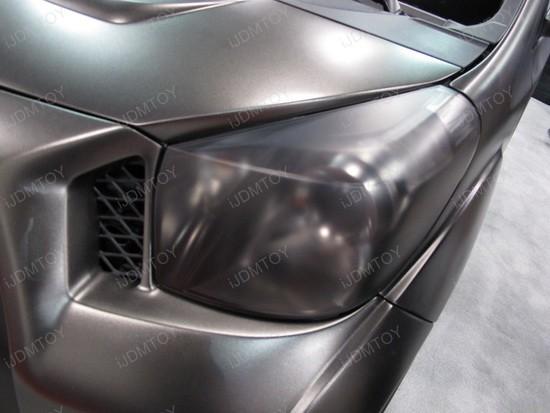 Scion IQ Black Headlight Tint 3