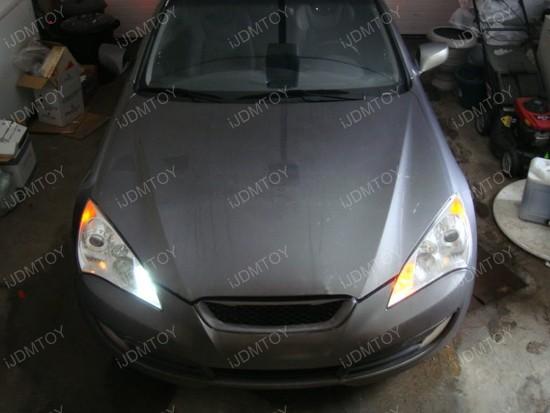 Hyundai Genesis Coupe 1157 Switchback LED Bulbs 1