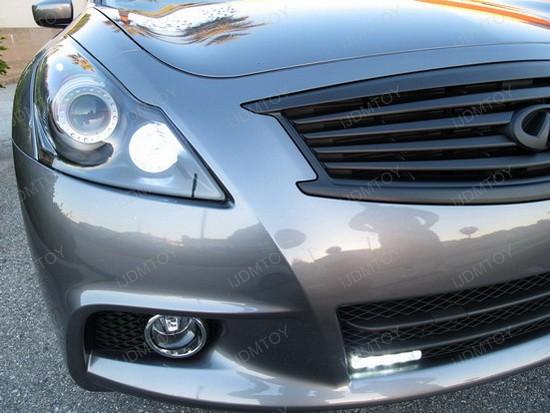 Infiniti G37 Sedan LED DRL Driving Lamps 1