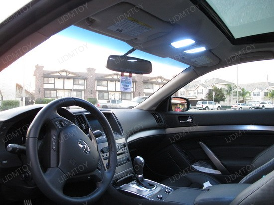 Infiniti G37 Coupe Direct Fit LED Interior Lights 1