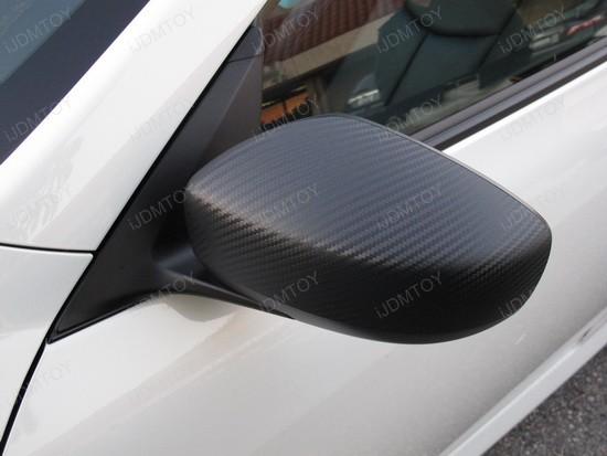Infiniti G37 Coupe Dry Carbon Fiber Vinyl Sheet 1