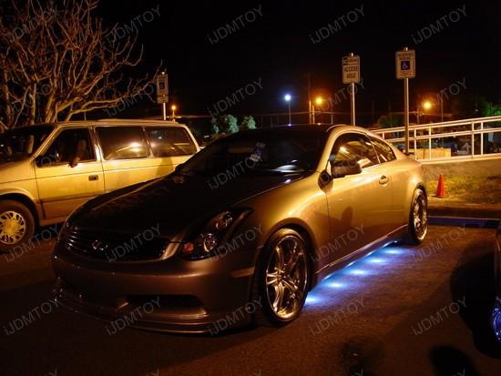 45-LED Under Car LED Puddle Lighting Kit 4