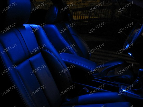 Nissan Altima LED Interior Lights Package 4