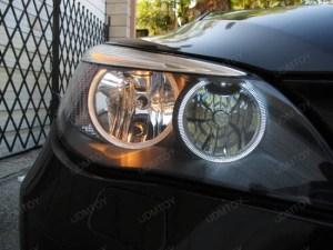 BMW E60 525i 530i 545i NonHID Headlights Angel Eyes Ring Marker Bulbs