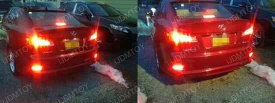Lexus IS250 LED Bumper Reflectors 2