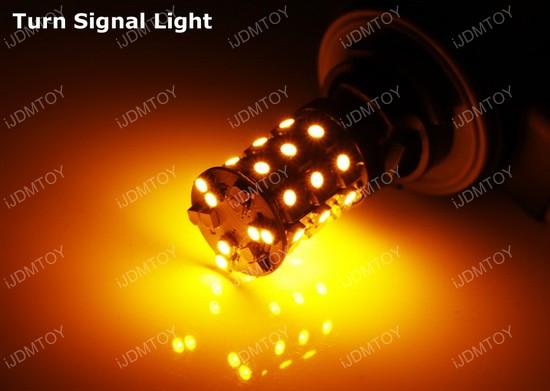 Dual Color Switchback 3157 (aka 3057 3457 4157) LED Turn Signal Light Bulbs