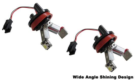 High Power LED BMW Angel Eyes H8 Ring Marker Bulbs
