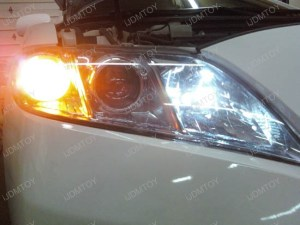 Toyota Matrix Camry Venza 9005 LED Daytime Running Lights Installation