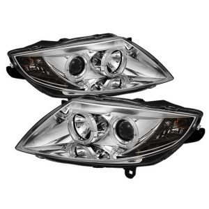 200308 BMW Z4 Chrome LED Halo Projector Headlights