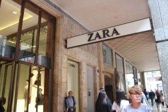 Zara in Milan, Italy | KlassyKinks.com