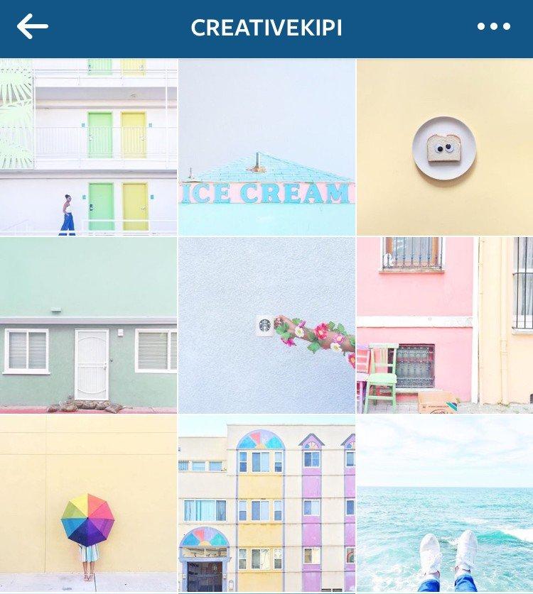 Pretty Instagram feed CreativeKipi