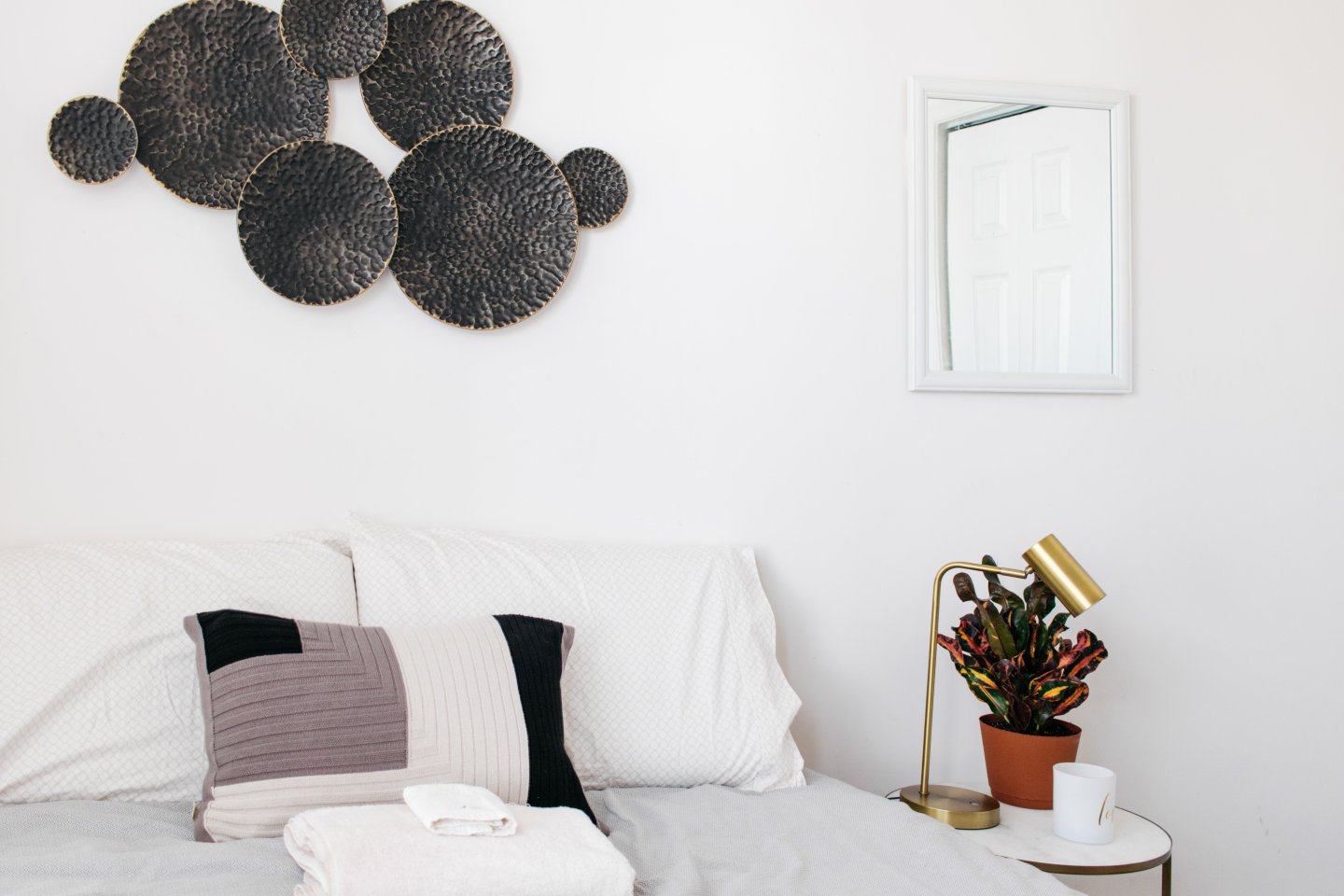 Home Office to Guest Bedroom Makeover - After