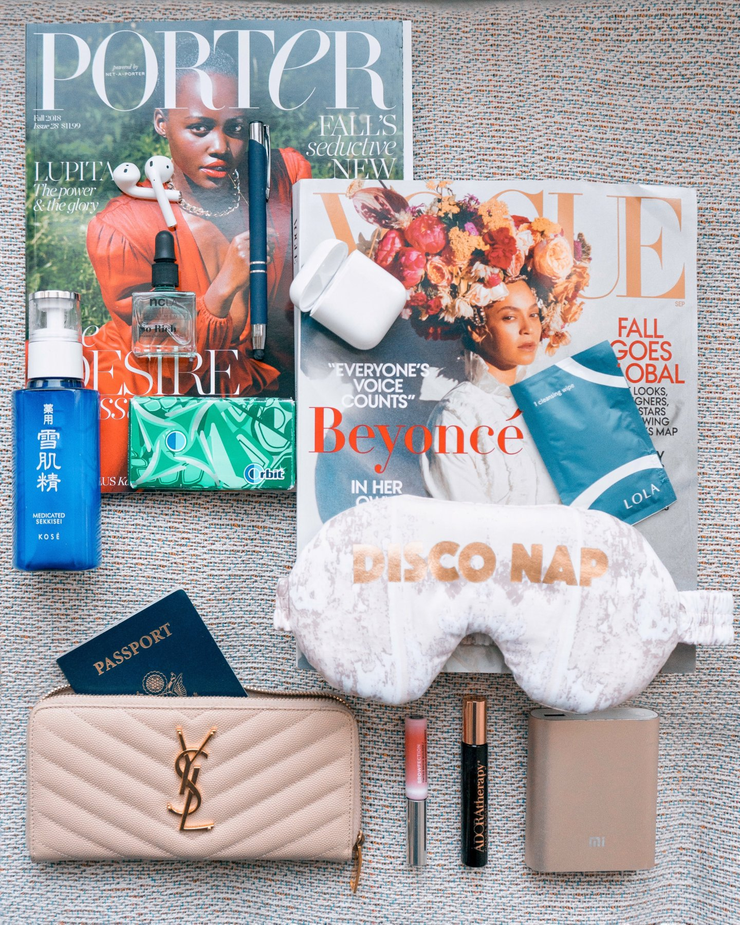 How to Survive Long Flights, what to pack for long flights, carry on essentials, carry on packing list