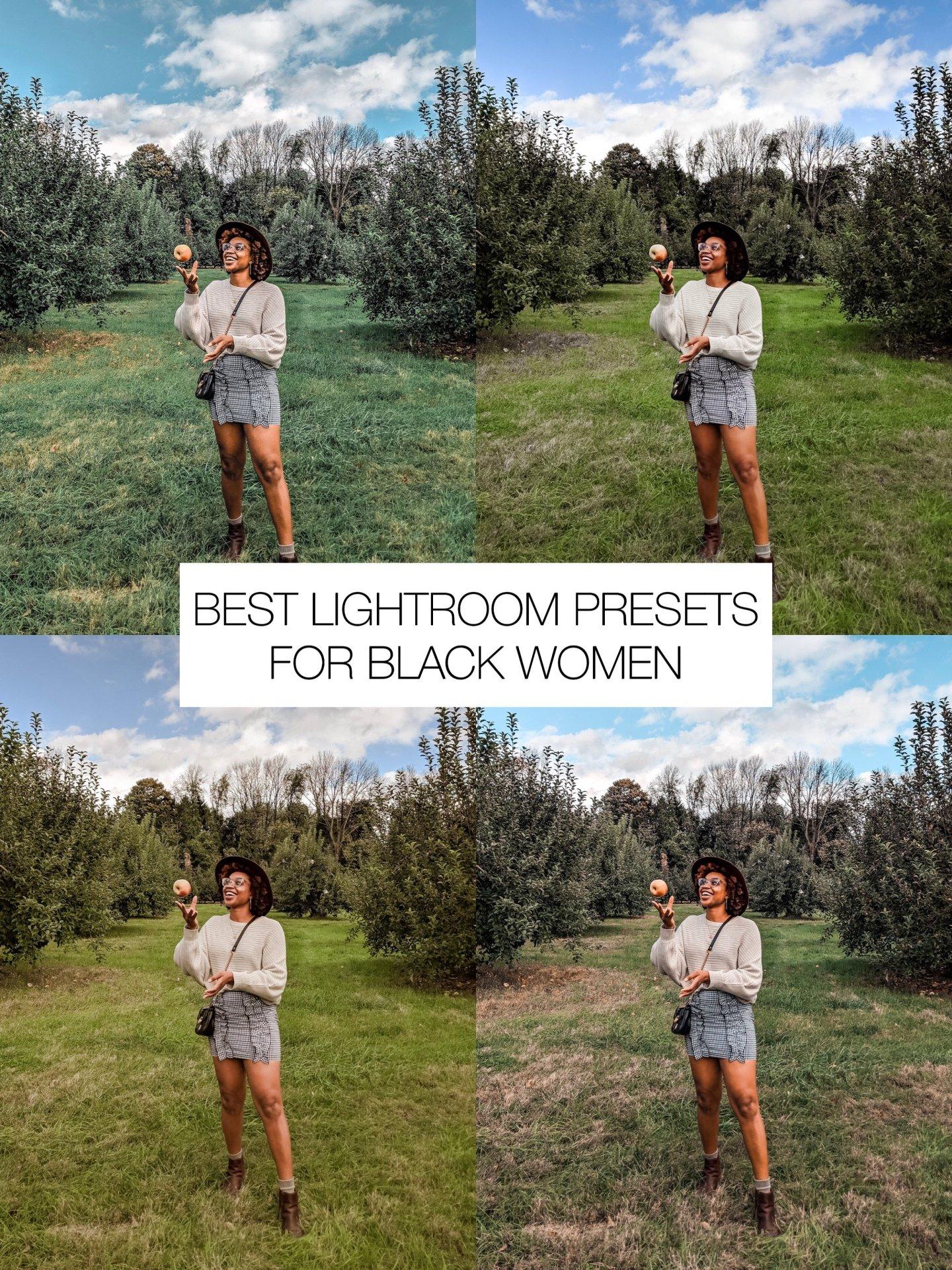Favorite Lightroom Presets for Black Women - Ijeoma Kola