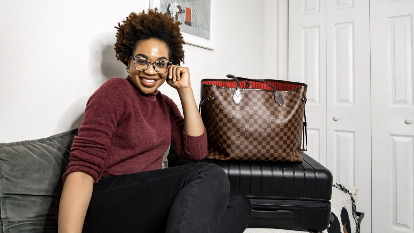 How to Pack a Carry On, Away Bigger Carry On and Louis Vuitton Neverfull GM