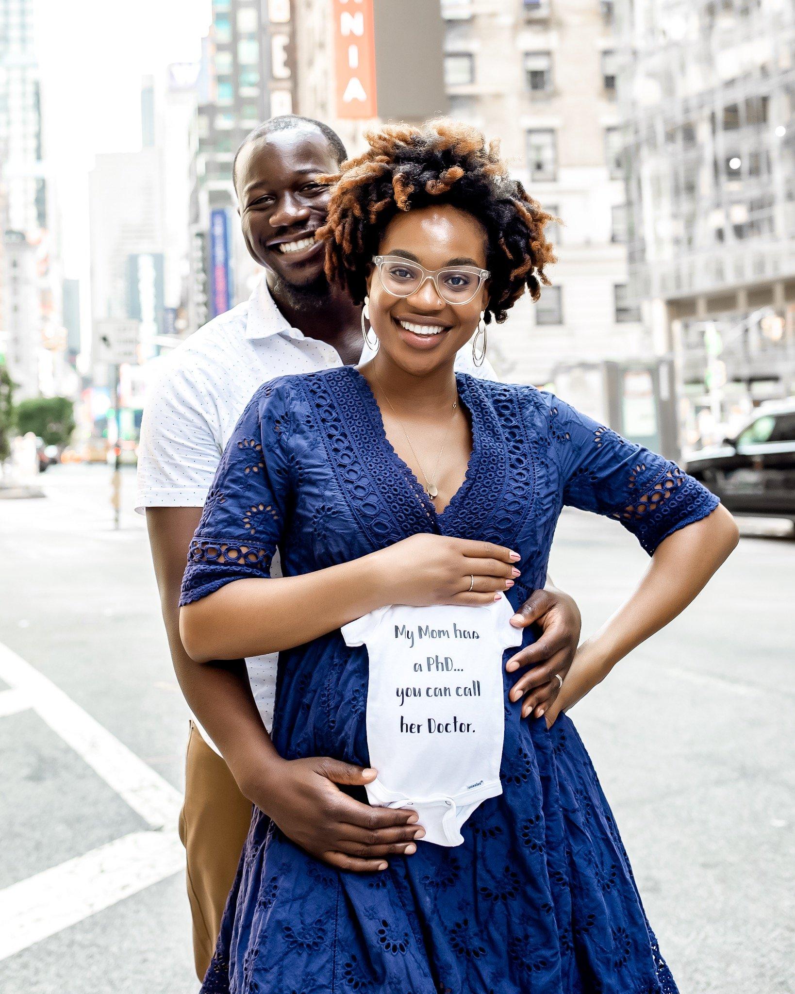 First a Mrs  Then a Doctor  Now a Mom!! - Ijeoma Kola
