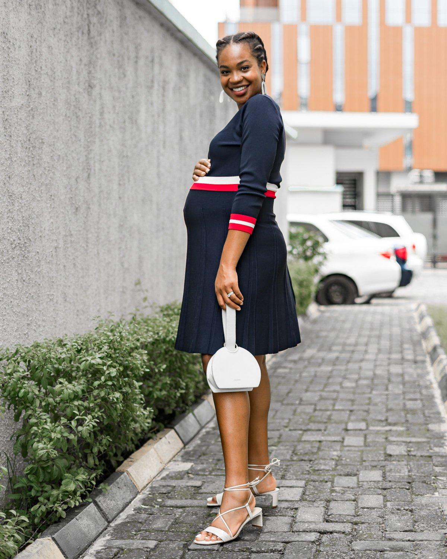 My New Fall Workwear Staple: The Knit Dress | Ijeoma Kola
