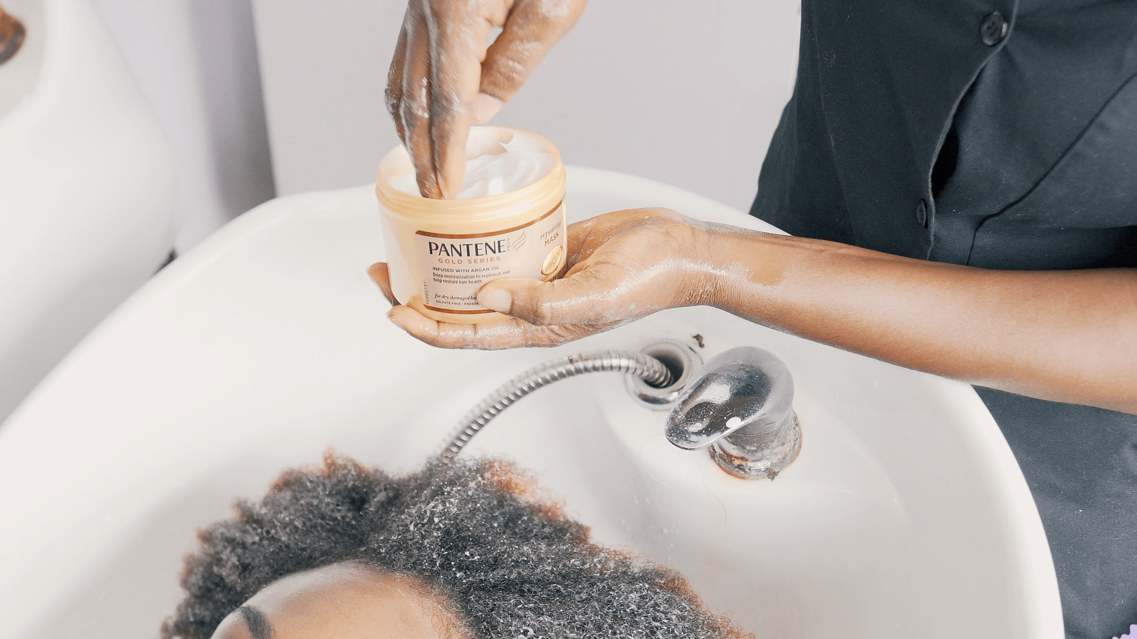 Pantene Gold Series Repairing Mask