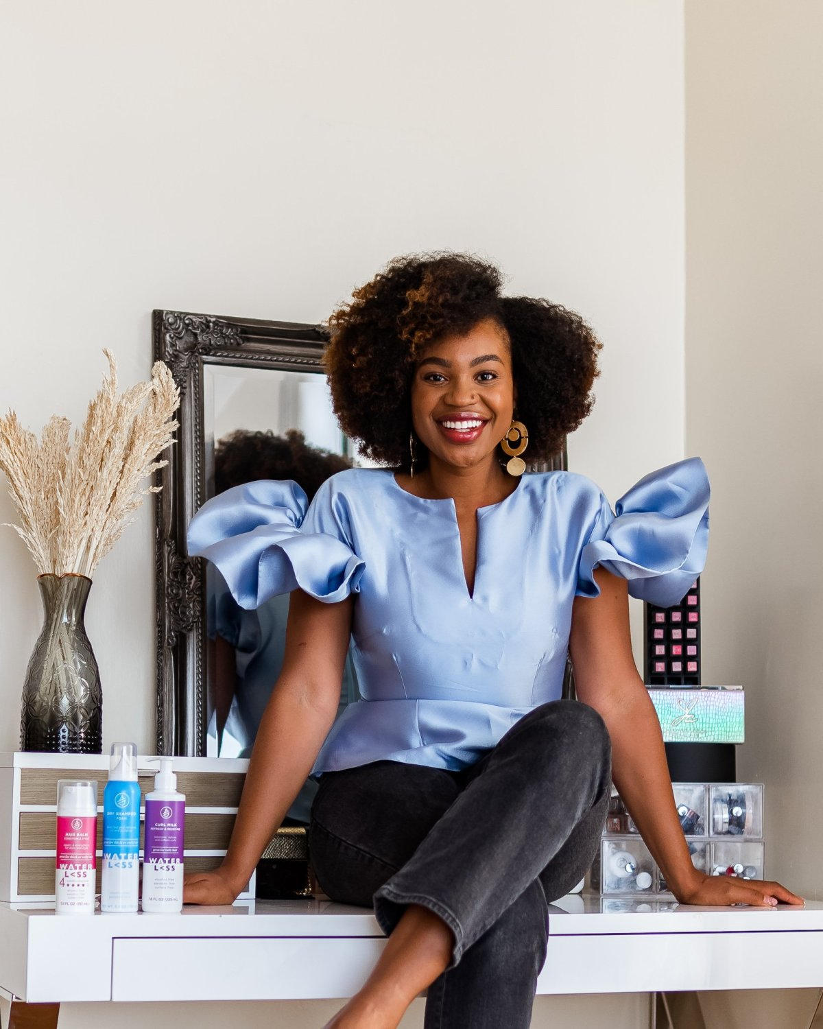 This Dry Shampoo Actually Worked on My Natural Hair | Ijeoma Kola