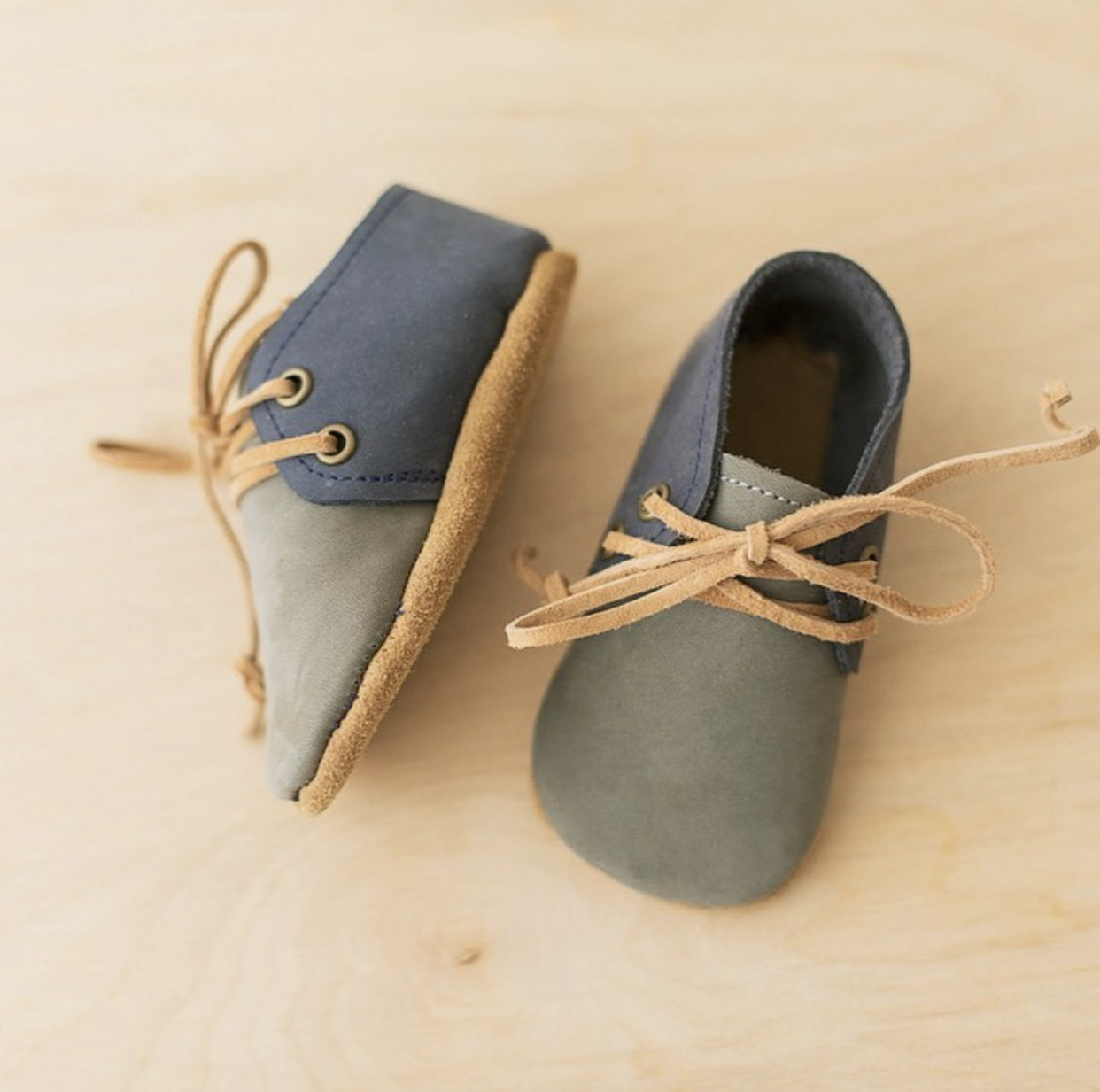 Blue Baby Shoes from Black Owned Baby Brand