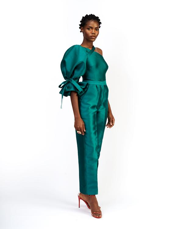 Imad Eduso emerald two-piece set - Go-to Two-Piece Sets