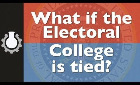 electoral college, what if it's a tie