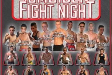 Op 22 mei 2016 vindt de tweede editie plaats van IJmuiden Fight Night!