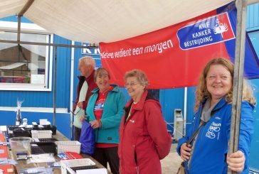 KWF Kankerbestrijding Velsen organiseert Wandelevenement Vissenloop
