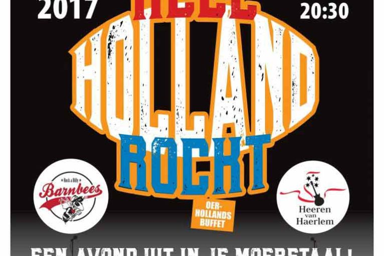 Thalia Theater presenteert 28 oktober Heel Holland Rockt!
