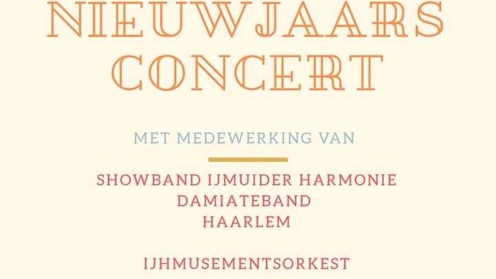 Gratis toegankelijke nieuwjaarsconcert 75 jaar IJmuider Harmonie