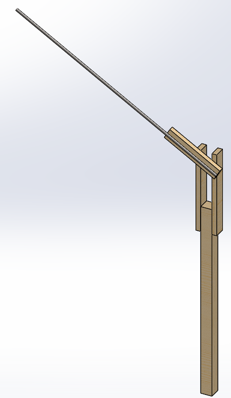 cad model image of bird feeder