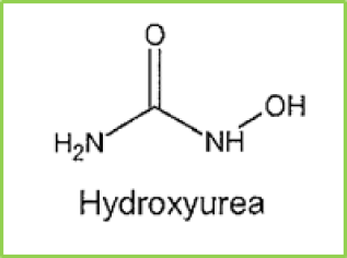 Figure 13: chemical structure of Hydroxyurea