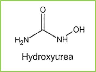 Figure 13: chemical structure of Hydroxyurea