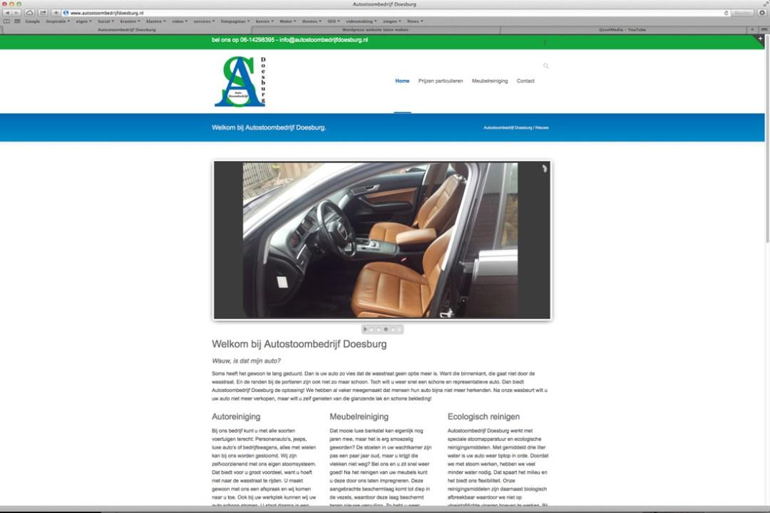 website Autostoombedrijf Doesburg