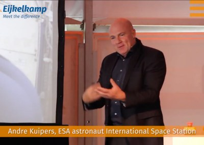The World of Royal Eijkelkamp met Andre Kuipers
