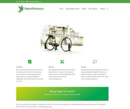 Website ReproFietsaccu