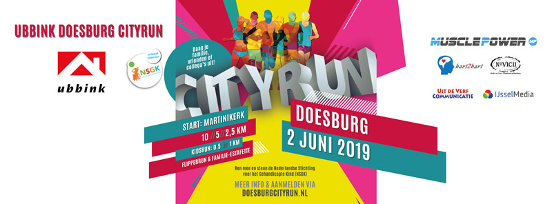 Media tbv Doesburg Cityrun 2019