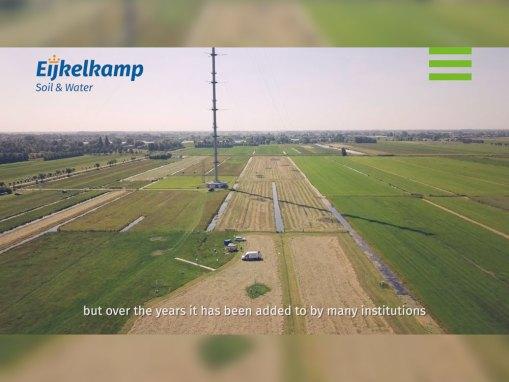 Eijkelkamp video 'Meten van verdamping' bij KNMI
