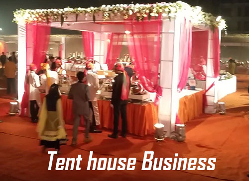 Tent house business